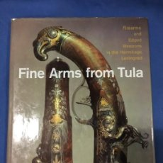 Militaria: (M) ARMAS - FINE ARMS FROM TULA, HARRY N. ABRAMS, NEW YORK 1977, MUY ILUSTRADO. Lote 199063050