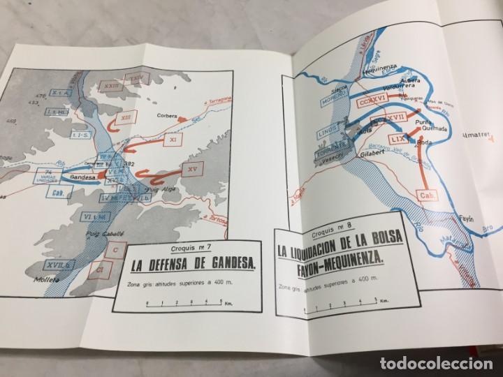 Militaria: La Batalla del Ebro. Servicio Histórico Militar. Monografías de la Guerra de España 13 - 1988 - Foto 4 - 199308317