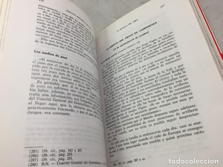 Militaria: La Batalla del Ebro. Servicio Histórico Militar. Monografías de la Guerra de España 13 - 1988 - Foto 6 - 199308317