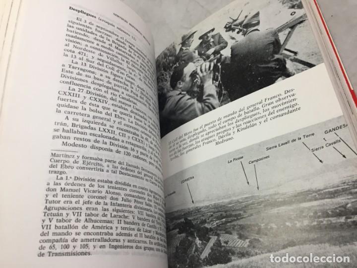 Militaria: La Batalla del Ebro. Servicio Histórico Militar. Monografías de la Guerra de España 13 - 1988 - Foto 7 - 199308317