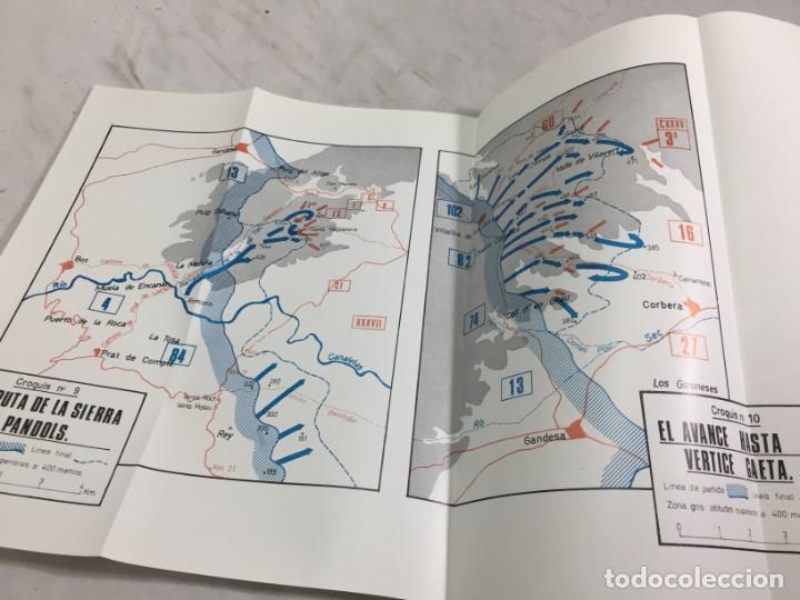 Militaria: La Batalla del Ebro. Servicio Histórico Militar. Monografías de la Guerra de España 13 - 1988 - Foto 9 - 199308317