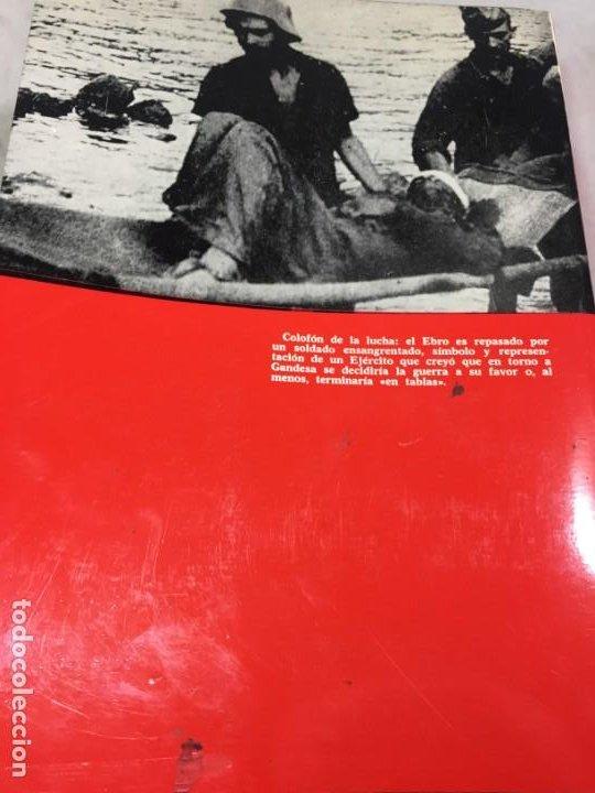 Militaria: La Batalla del Ebro. Servicio Histórico Militar. Monografías de la Guerra de España 13 - 1988 - Foto 12 - 199308317