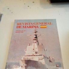 Militaria: G-EST18 LIBRO REVISTA GENERAL DE MARINA FUNDADA EN 1877 MARZO 2005. Lote 199319100