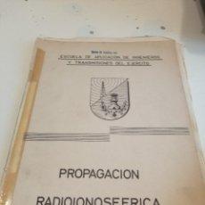 Militaria: G-EST18 LIBRO PROPAGACION RADIOIONOSFERICA . Lote 199319305