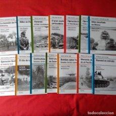 Militaria: SEGUNDA GUERRA MUNDIAL 2ª GUERRA MUNDIAL. OSPREY RBA - COMPLETA (40 LIBROS) 2008 TAPA DURA. Lote 199753343