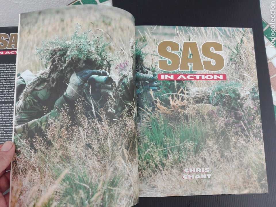 Militaria: -S.A.S IN ACTION -INGLES -1997 - Foto 5 - 202883560