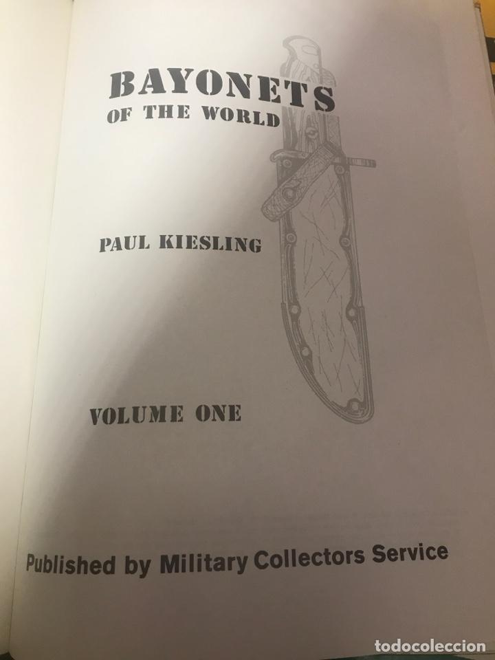 Militaria: Bayonetas del mundo paul kiesling - Foto 3 - 203152243