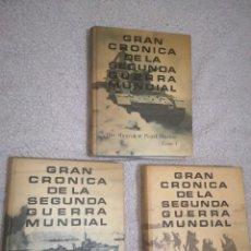 Militaria: GRAN CRÓNICA DE LA SEGUNDA GUERRA MUNDIAL. Lote 203174618