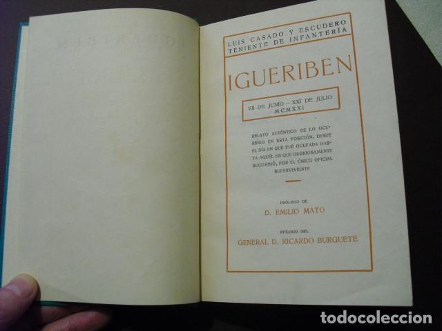 Militaria: 1923 GUERRA DE MARRUECOS IGUERIBEN TENIENTE CASADO - Foto 2 - 203219350