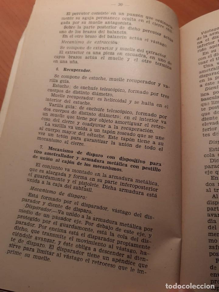 Militaria: NORMAS PROVISIONALES PARA LA INSTRUCCIÓN DE TIRO CON SUBFUSIL AMETRALLADOR - Foto 5 - 68017425