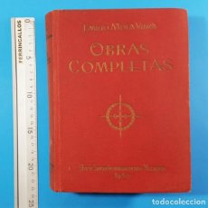 Militaria: OBRAS COMPLETAS EMILIO MOLA VIDAL LIBRERIA SANTARÉN 1940 1213 PAG TAPA DURA GUERRA CIVIL. Lote 205515785