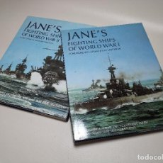 Militaria: JANE'S FIGHTING SHIPS OF WORLD WAR- CATALOGO TODOS LOS BARCOS DE GUERRA DEL MUNDO DURANTE WW1. Lote 205836590
