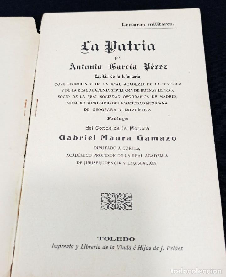 Militaria: La Patria. Capitán García Pérez. L1 - Foto 2 - 206838920