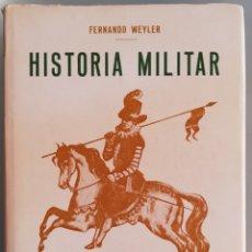 Militaria: Hª MILITAR DE MALLORCA (FACSÍMIL 1968) - FERNANDO WEYLER Y LAVIÑA, Hª MILITAR DESDE 1229 A 1862. Lote 207797603