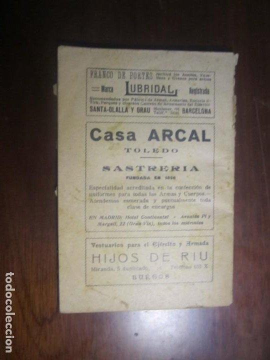 Militaria: ESCALILLA DEL ARMA DE INFANTERIA 29 /2/ 1936 TOLEDO --F.FRANCO DE JEFE MAYOR DEL EJERCITO A CANARIA - Foto 11 - 209170400