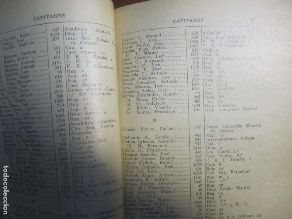 Militaria: ESCALILLA DEL ARMA DE INFANTERIA 29 /2/ 1936 TOLEDO --F.FRANCO DE JEFE MAYOR DEL EJERCITO A CANARIA - Foto 6 - 209170400