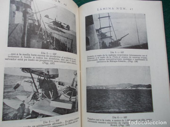 Militaria: PÁGINAS DE GLORIA DE LA MARINA ESPAÑOLA FRANCISCO VALLE COLLANTE 1938 - Foto 2 - 209686110