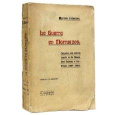 Militaria: LA GUERRA EN MARRUECOS // NAZARIO CEBREIROS // CON 4 CROQUIS // ((1910)). Lote 46734365