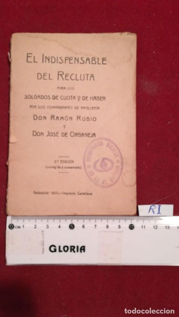 EL INDISPENSABLE DEL RECLUTA (Militar - Libros y Literatura Militar)