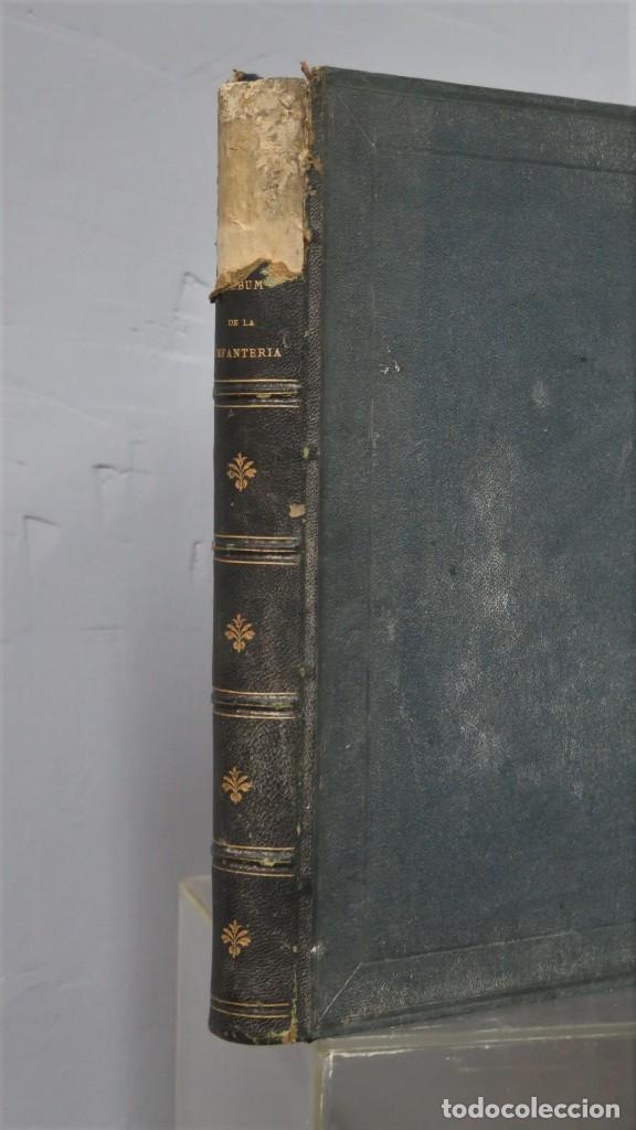 Militaria: 1861.- ALBUM DE LA INFANTERÍA ESPAÑOLA. DESDE SUS PRIMITIVOS TIEMPOS HASTA EL DÍA. CONDE DE CLONARD - Foto 2 - 213910377