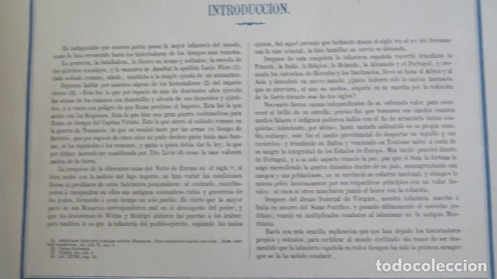 Militaria: 1861.- ALBUM DE LA INFANTERÍA ESPAÑOLA. DESDE SUS PRIMITIVOS TIEMPOS HASTA EL DÍA. CONDE DE CLONARD - Foto 3 - 213910377