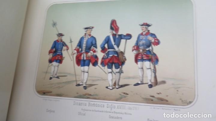 Militaria: 1861.- ALBUM DE LA INFANTERÍA ESPAÑOLA. DESDE SUS PRIMITIVOS TIEMPOS HASTA EL DÍA. CONDE DE CLONARD - Foto 6 - 213910377