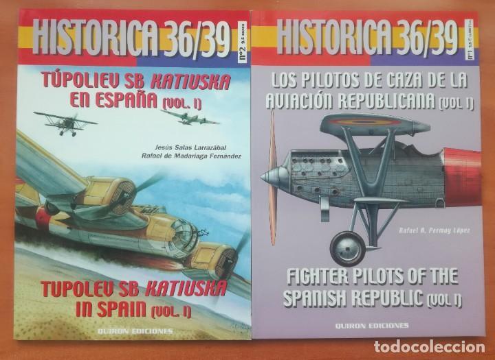 Militaria: GRAN LOTE DE LIBROS, BOLETINES AVIACIÓN REPUBLICANA, PILOTO, AVIADOR, REPUBLICA - Foto 8 - 214314460