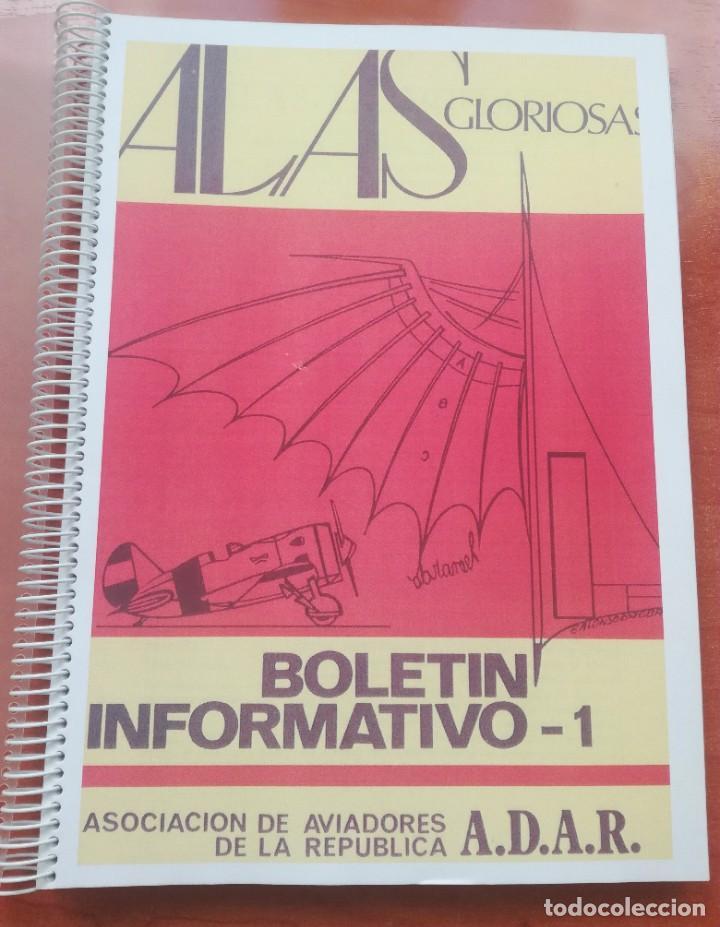 Militaria: GRAN LOTE DE LIBROS, BOLETINES AVIACIÓN REPUBLICANA, PILOTO, AVIADOR, REPUBLICA - Foto 22 - 214314460