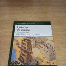 Militaria: OSPREY - GRECIA - GUERRA DE ASEDIO - ALEJANDRO MAGNO IV. Lote 214464820