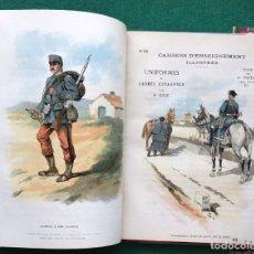 Militaria: MILITAR. ÁLBUM DE UNIFORMES DEL EJÉRCITO ESPAÑOL. S. XIX.. Lote 214555196