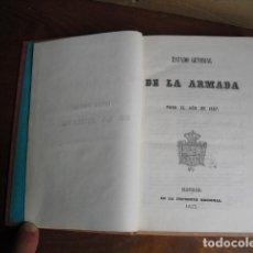 Militaria: 1857 ESTADO GENERAL DE LA ARMADA. Lote 215662153