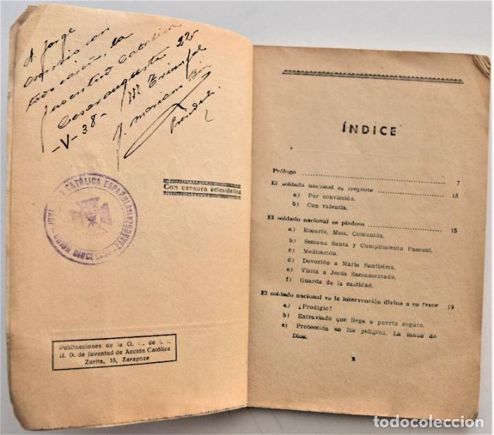 Militaria: EL FRENTE DICE, LA GUERRA DE ESPAÑA A TRAVÉS DE LA CORRESPONDENCIA DE LOS COMBATIENTES ZARAGOZA 1938 - Foto 4 - 216015372