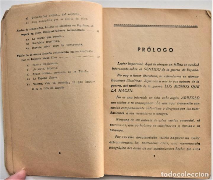 Militaria: EL FRENTE DICE, LA GUERRA DE ESPAÑA A TRAVÉS DE LA CORRESPONDENCIA DE LOS COMBATIENTES ZARAGOZA 1938 - Foto 6 - 216015372