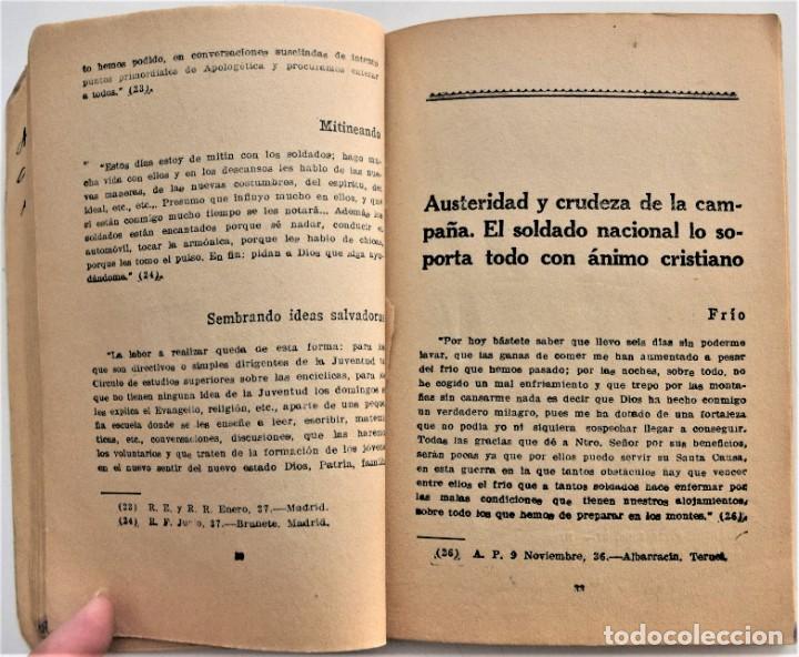 Militaria: EL FRENTE DICE, LA GUERRA DE ESPAÑA A TRAVÉS DE LA CORRESPONDENCIA DE LOS COMBATIENTES ZARAGOZA 1938 - Foto 7 - 216015372
