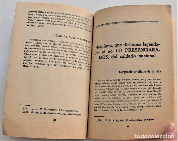 Militaria: EL FRENTE DICE, LA GUERRA DE ESPAÑA A TRAVÉS DE LA CORRESPONDENCIA DE LOS COMBATIENTES ZARAGOZA 1938 - Foto 8 - 216015372