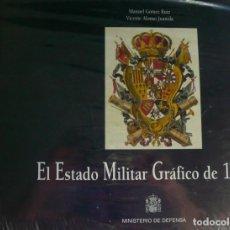 Militaria: EL ESTADO MILITAR GRÁFICO DE 1791. MINISTERIO DE DEFENSA. UNIFORMES MILITARES. NUEVO, PLASTIFICADO. Lote 216354263