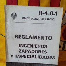 Militaria: REGLAMENTO INGENIEROS, ZAPADORES Y ESPECIALIDADES. Lote 216494857