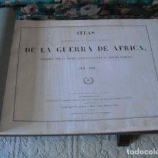 Militaria: 1861 ATLAS HISTORICO Y TOPOGRAFICO DE LA GUERRA DE AFRICA. Lote 218355071