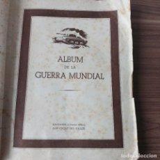 Militaria: 1945 ALBUM CROMOS SEGUNDA GUERRA MUNDIAL - EDICIONES ALVARO PEREZ. Lote 218884560