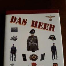 Militaria: DAS HEER - UNIFORMES Y DISTINTIVOS (SPANISH EDITION) - ANTONIO GONZALEZ SANCHEZ; RICARDO RECIO CARD. Lote 221677526