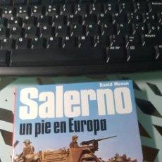 Militaria: LIBRO SALERNO UN PIE EN EUROPA ED SAN MARTIN BATALLAS Nº 13. Lote 222716337