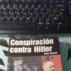 Militaria: LIBRO CONSPIRACION CONTRA HITLER ED SAN MARTIN POLITICOS Nº 1. Lote 222716815