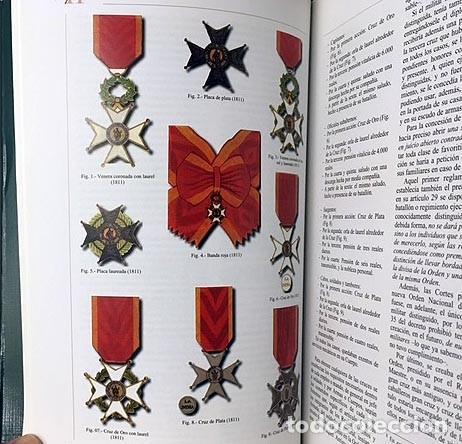 Militaria: Caballeros de la Real Orden de San Fernando (Intendencia, Cuerpos...Historia militar. Condecoracione - Foto 2 - 223099873