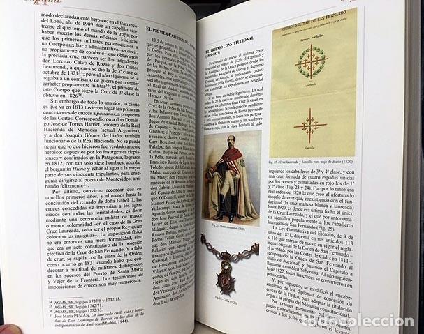 Militaria: Caballeros de la Real Orden de San Fernando (Intendencia, Cuerpos...Historia militar. Condecoracione - Foto 4 - 223099873