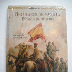 Militaria: REGULARES DE MELILLA 100 AÑOS DE HISTORIA ORIGEN EVOLUCIÓN FOTOGRAFÍAS DOCUMENTOS. Lote 223103282