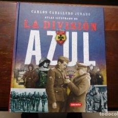 Militaria: ATLAS ILUSTRADO DE LA DIVISIÓN AZUL SUSAETA. Lote 223618070