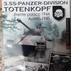 Militaria: 3. SS-PANZER-DIVISION TOTENKOPF. FRENTE POLACO 1944, AUSTRIA 1945. Lote 224259340
