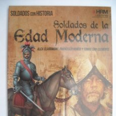 Militaria: SOLDADOS DE LA EDAD MODERNA JENÍZAROS CABALLOS CORAZA IRREGULARES CROATAS SAMURAIS TERCIOS ARCABUZ. Lote 224242101