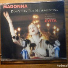 Militaria: CD-ROM - MADONNA - DON´T CRY FOR ME ARGENTINA - MAXI SINGLE PROMOCIONAL 4 TRACKS - WB 1996. Lote 224549686