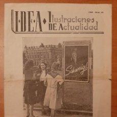 Militaria: 1944 IDEA - ILUSTRACIONES DE ACTUALIDAD - HOJAS DE PROMOCIÓN BÉLICA ALEMANA - 2ª GUERRA MUNDIAL. Lote 224670655